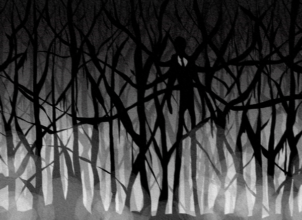 slender man fan art 1