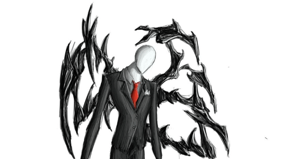 slender man fan art 3