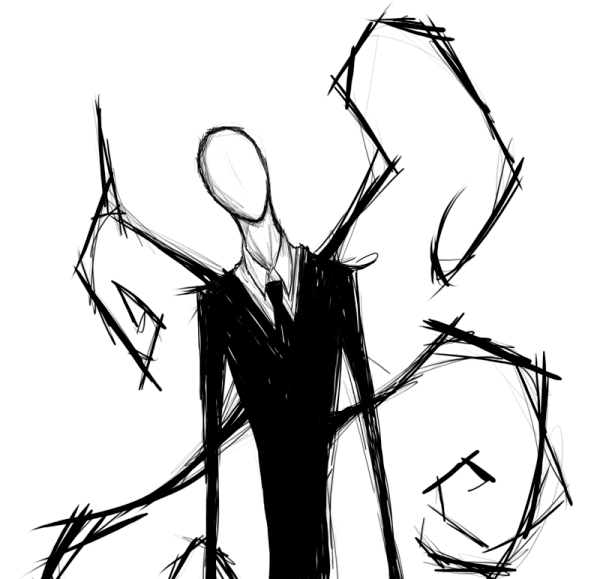 slender man fan art 5
